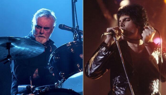 Queen, Roger Taylor e Freddie Mercury