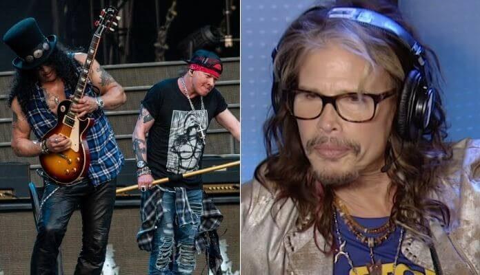 Steven Tyler e reunião do Guns N' Roses