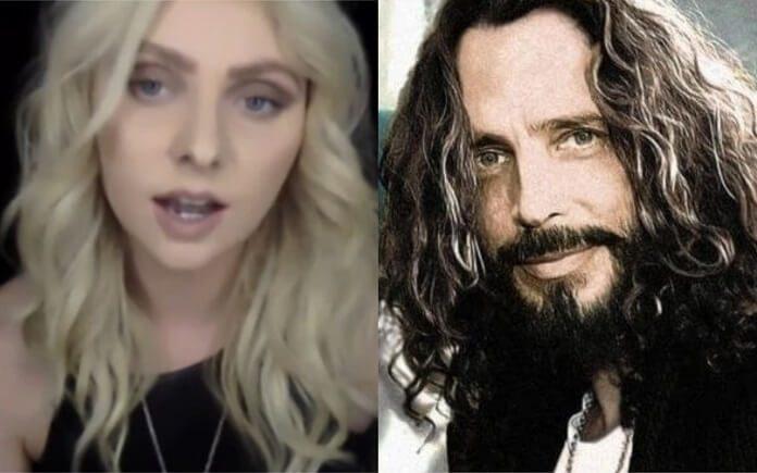 Taylor Momsen descreve último encontro com Chris Cornell