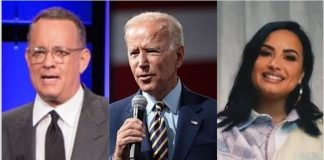 Apresentado por Tom Hanks, posse de Joe Biden terá shows de Demi Lovato, Jon Bon Jove e Justin Timberlake