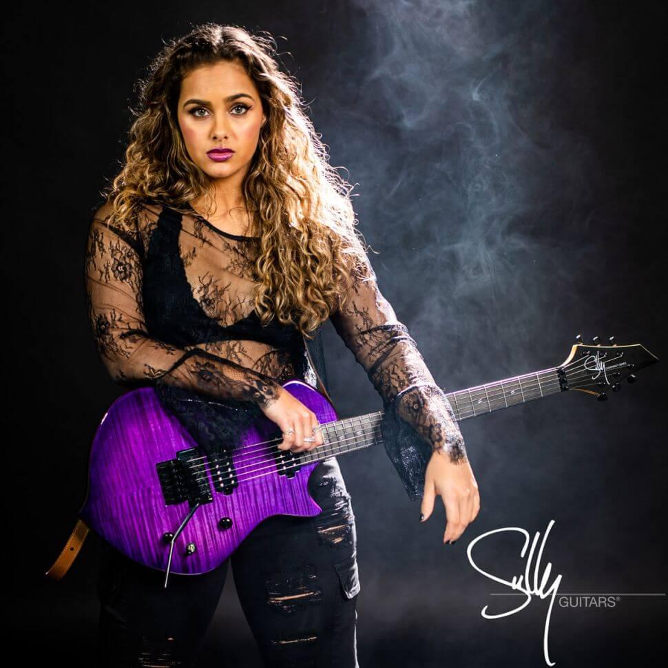 Zaria ganha patrocínio da Sully Guitars