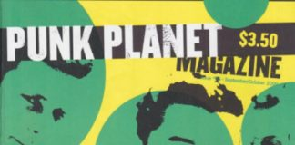 Green Day na capa do zine Punk Planet