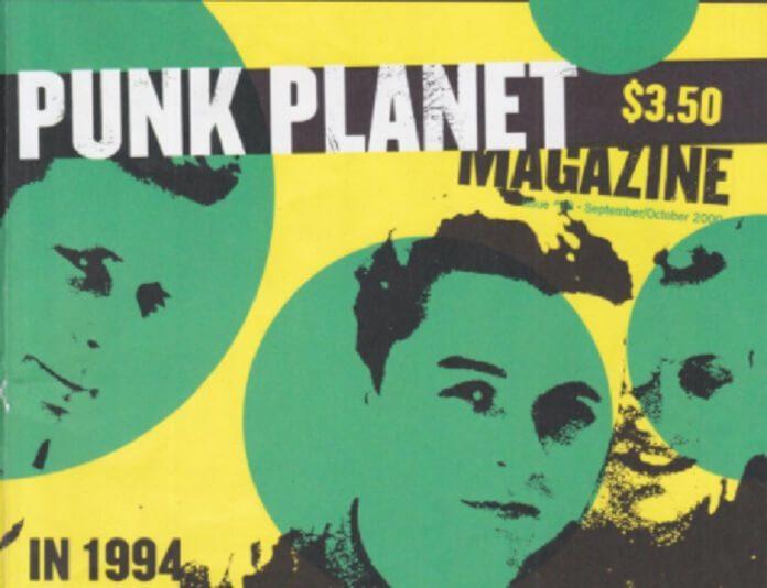 Green Day na capa do zine Punk Planet