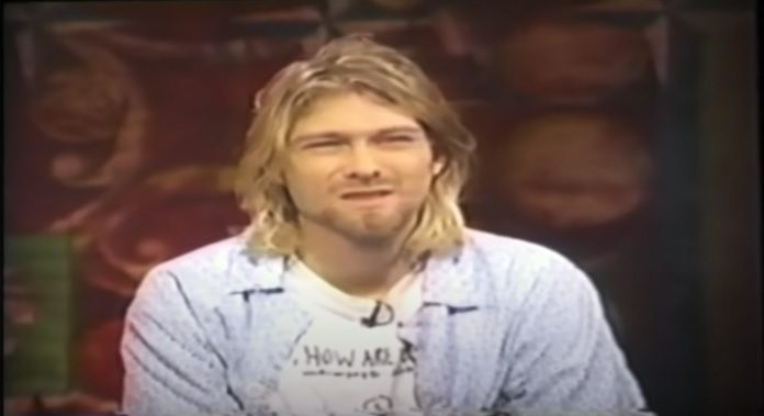 Kurt Cobain entrevista Dave Grohl