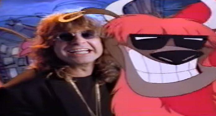 Ozzy Osbourne comercial reciclagem