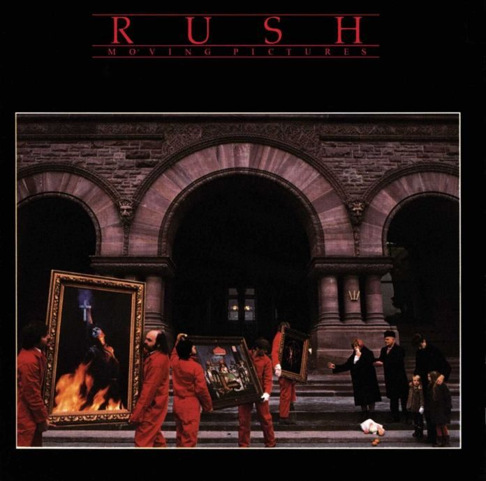 Rush - Moving Pictures - Capa