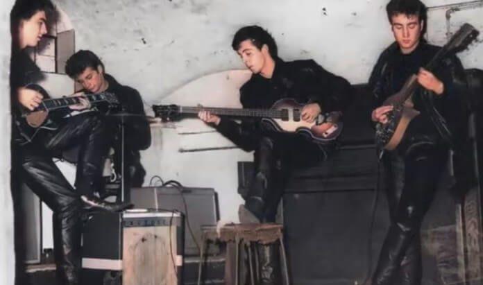 Beatles no Cavern Club com Pete Best