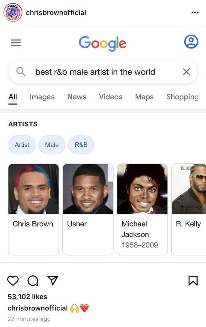 Chris Brown se diz o maior do R&B