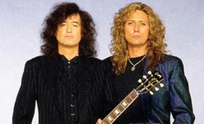 Jimmy Page e David Coverdale