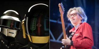 Daft Punk e Laurent Brancowitz, do Phoenix