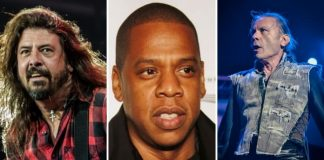 Dave Grohl, Jay-Z e Iron Maiden