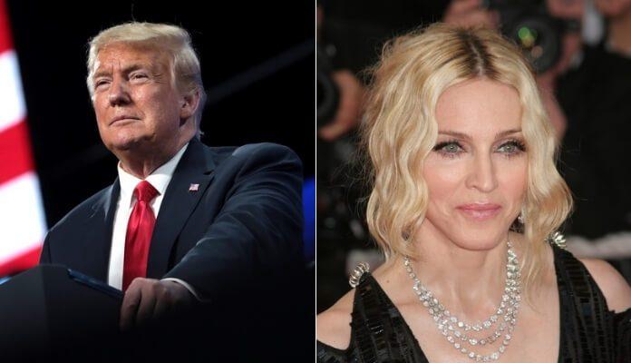 Donald Trump e Madonna