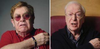 Elton John e Michael Caine