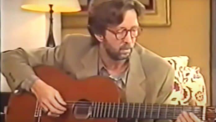 Eric Clapton e a primeira performance de