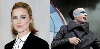 Evan Rachel Wood e Marilyn Manson