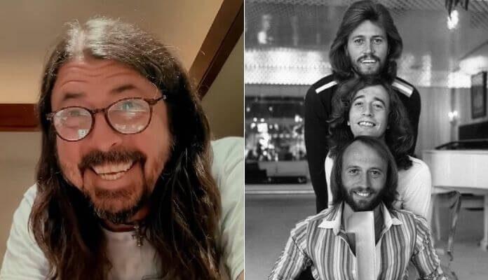 Foo Fighters faz cover de Bee Gees