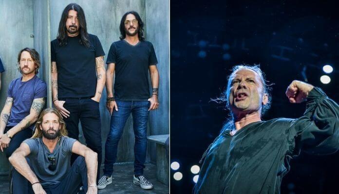 Foo Fighters e Iron Maiden