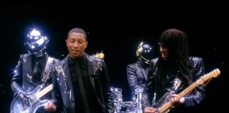 "Clipe de ""Get Lucky"" (Daft Punk feat. Nile Rodgers e Pharrell Williams)"
