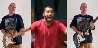 Músico transforma berros de Gil do Vigor em música de Heavy Metal