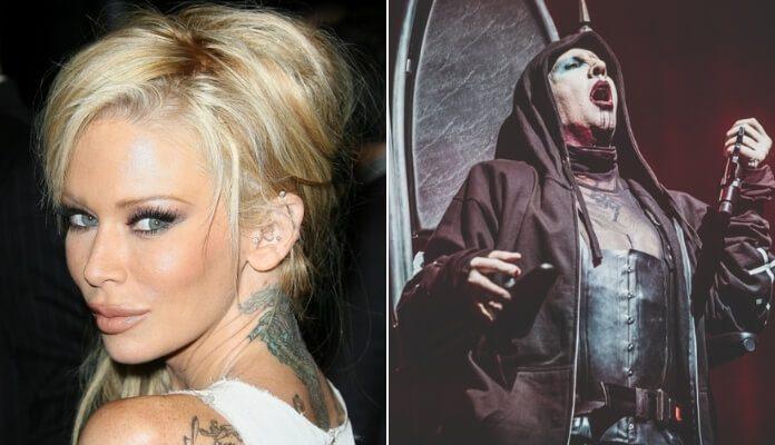 Jenna Jameson e Marilyn Manson