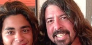 Dylan com Dave Grohl
