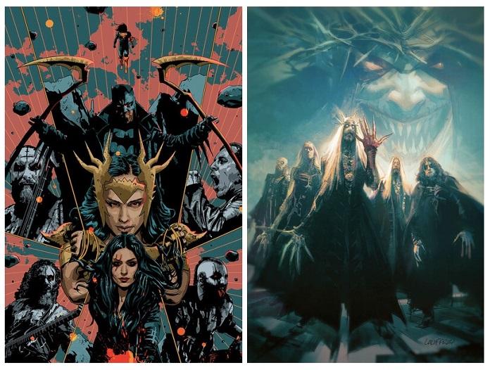 Lacuna Coil e Opeth nos quadrinhos da DC