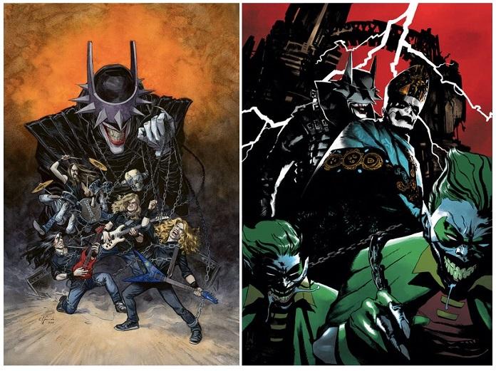 Megadeth e Ghost nos quadrinhos da DC