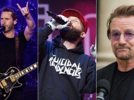 Nickelback, Limp Bizkit e Bono (U2)