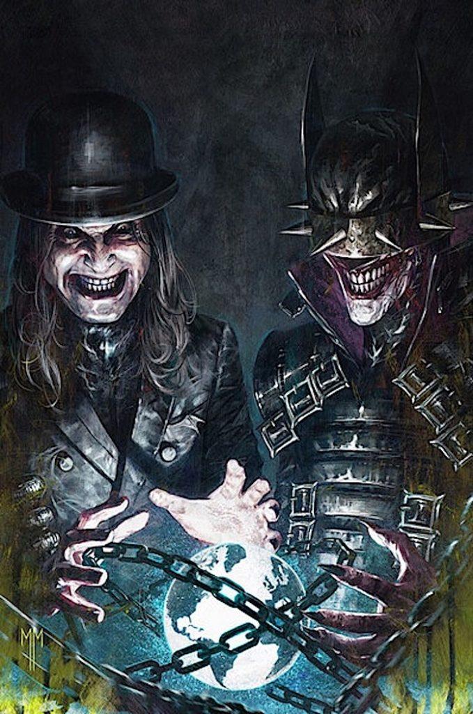 Ozzy Osbourne no quadrinho da DC