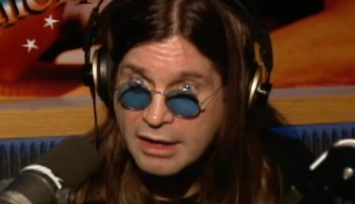 Ozzy Osbourne no programa de Howard Stern em 1996