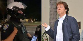 Polícia e Paul McCartney
