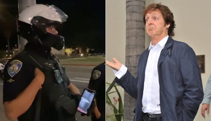Polícia e Paul McCartney