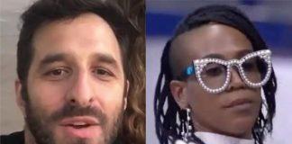 Rafinha Bastos torce por eliminação de Karol Conká no Big Brother Brasil 21