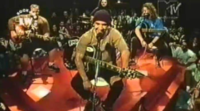 Raimundos no Balada MTV em 1999