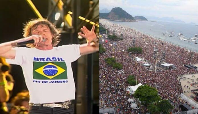 Rolling Stones em Copacabana, 2006