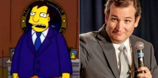 Simpsons e Ted Cruz