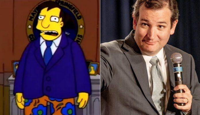 Simpsons e Ted Cruz