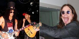 Slash, Tom Morello e Ozzy Osbourne