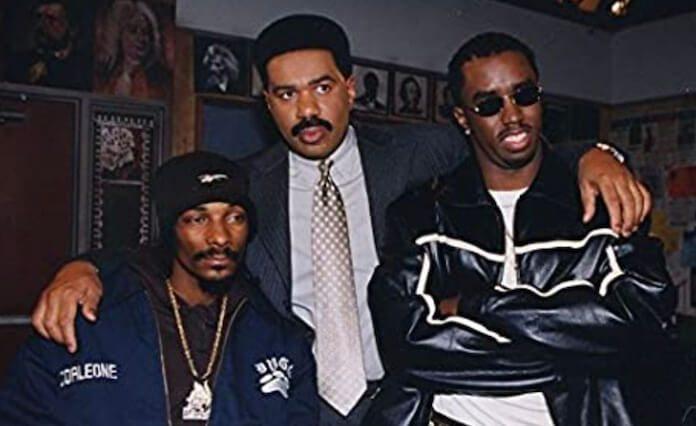 Snoop Dogg, Steve Harvey e Sean Combs