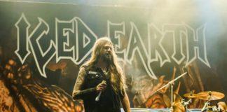 Stu Block, vocalista do Iced Earth, em 2017
