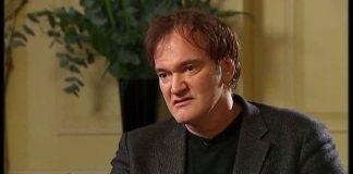 Tarantino brigando com entrevistador