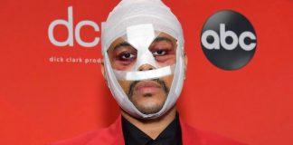 The Weeknd enfaixado