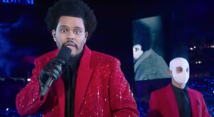 The Weeknd no Super Bowl