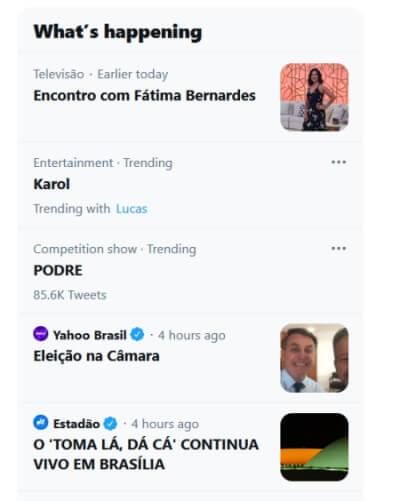 Karol Conká nos Trending Topics do Twitter