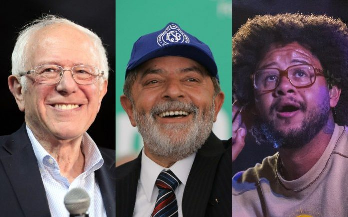 Bernie Sanders, Lula e Emicida