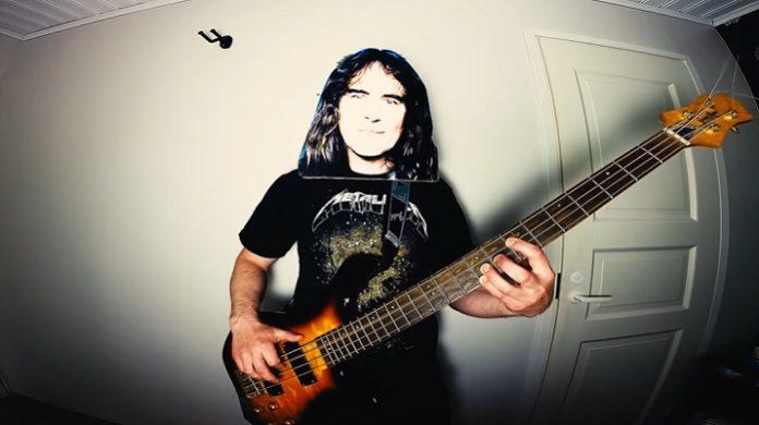 Iron Maiden tocando Metallica