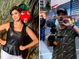Angela Dippe criticada na Avenida Paulista