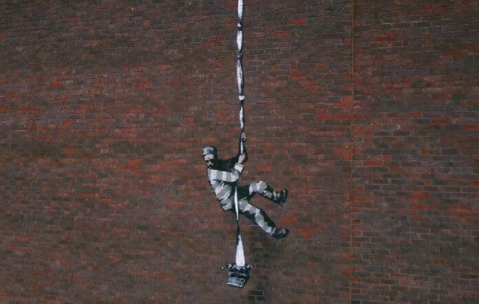 Banksy faz grafite no presídio HM Reading