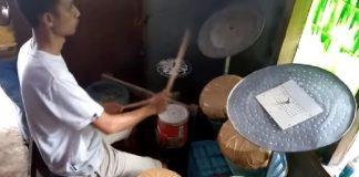 Jovem indonésio ganhará bateria de Mike Portnoy