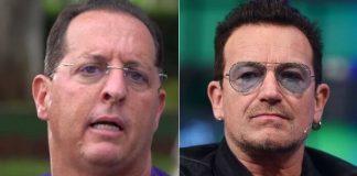 Benjamin Back e Bono, do U2